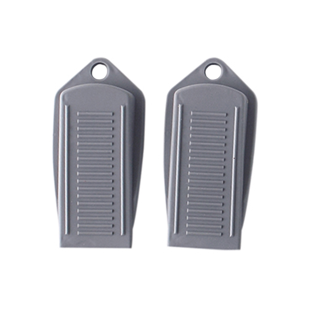 2pcs/set Baby Rubber Finger Protector Office Safety Accessories Home Gift Easy Install Door Stopper