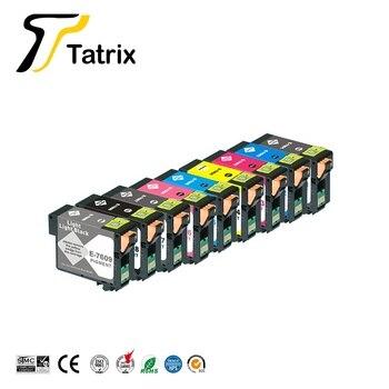 Tatrix Compatible Ink Cartridge for Epson T7601 T7602 T7603 T7604 T7605 T7606 T7607 T7608 T7609 suit For Epson SURECOLOR SC-P600
