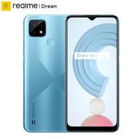 "Realme C21 Global Version Smartphone Helio G35 Octa Core 4GB RAM 64GB ROM 6.5""Display 5000mAh Large Battery 3-Card Slot 1"
