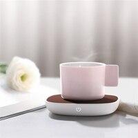 THN NBD01 센서 스위치 따뜻한 컵 매트 USB 5V PI 난방 55도 절연베이스 음료 따뜻한 히터 머그잔|전기 히터|가전 제품 -