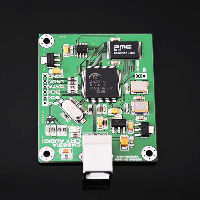 CM6631A Digital Interface Module DAC Board USB To IIS SPDIF Output 24Bit 192K 384K ASIO H010