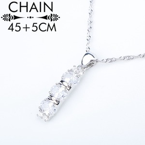 Image 3 - White Zirconia Silver 925 Costume Bridal Jewelry Sets Pendant Necklace Bracelets Earrings Rings For Women Set Jewellery Gift Box