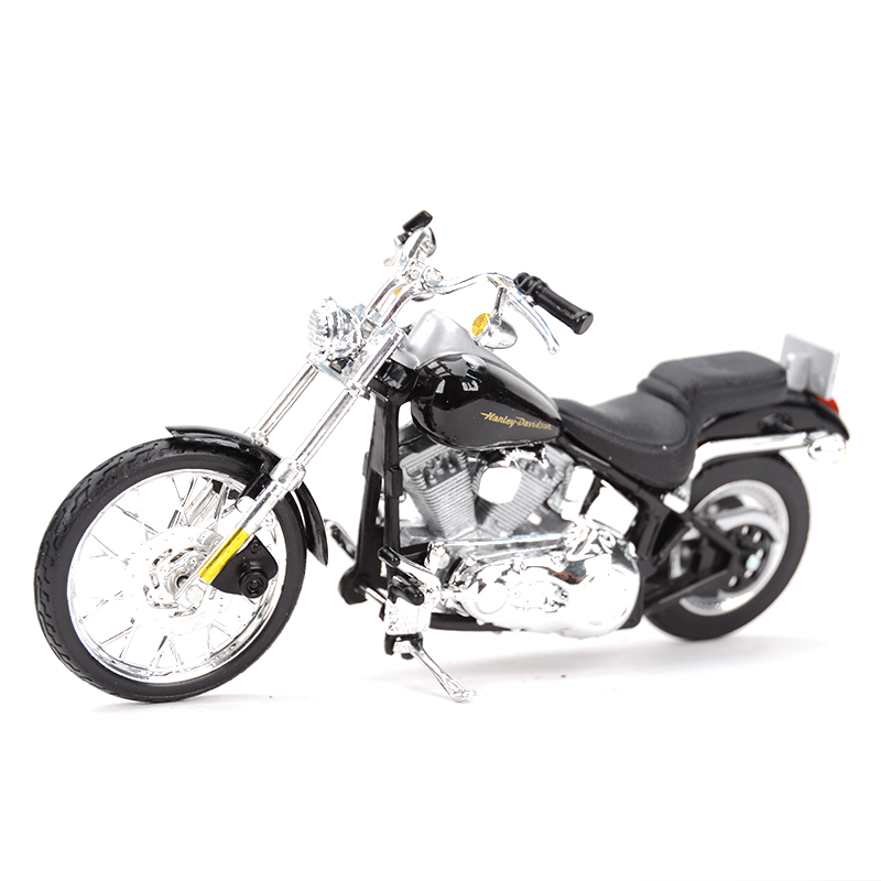 Maisto 1:18 2000 FXSTD Softail Deuce Diecast Alloy Motorcycle Model Toy