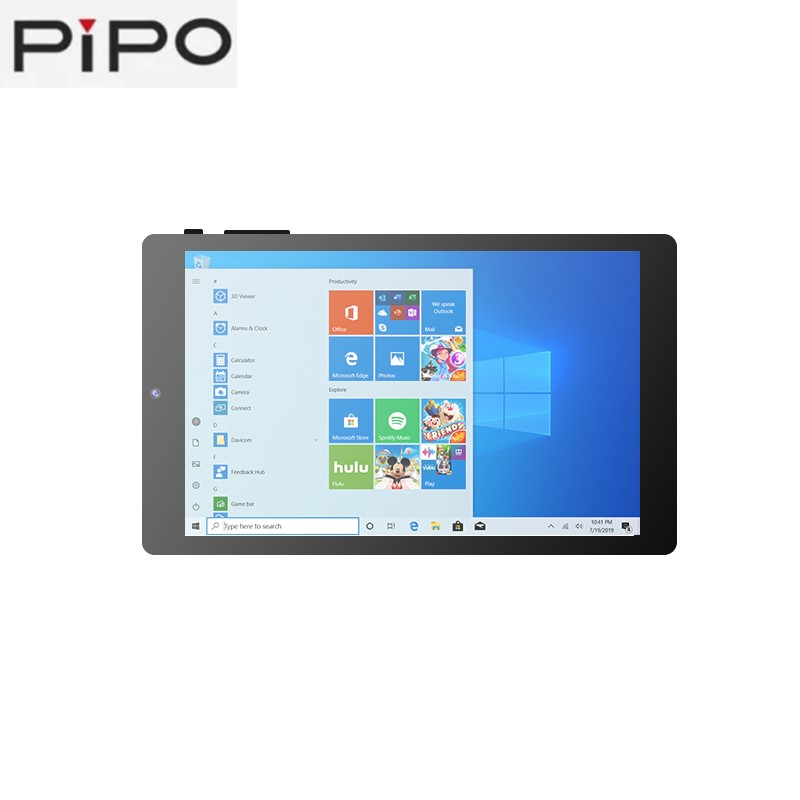 PiPo W2Pro 8 inch Tablet PC intel Z8350 Quad-Core 2GB Ram 32GB Rom 1920*1200 IPS Screen Win 10+Android 5.1 Dual-OS WiFi