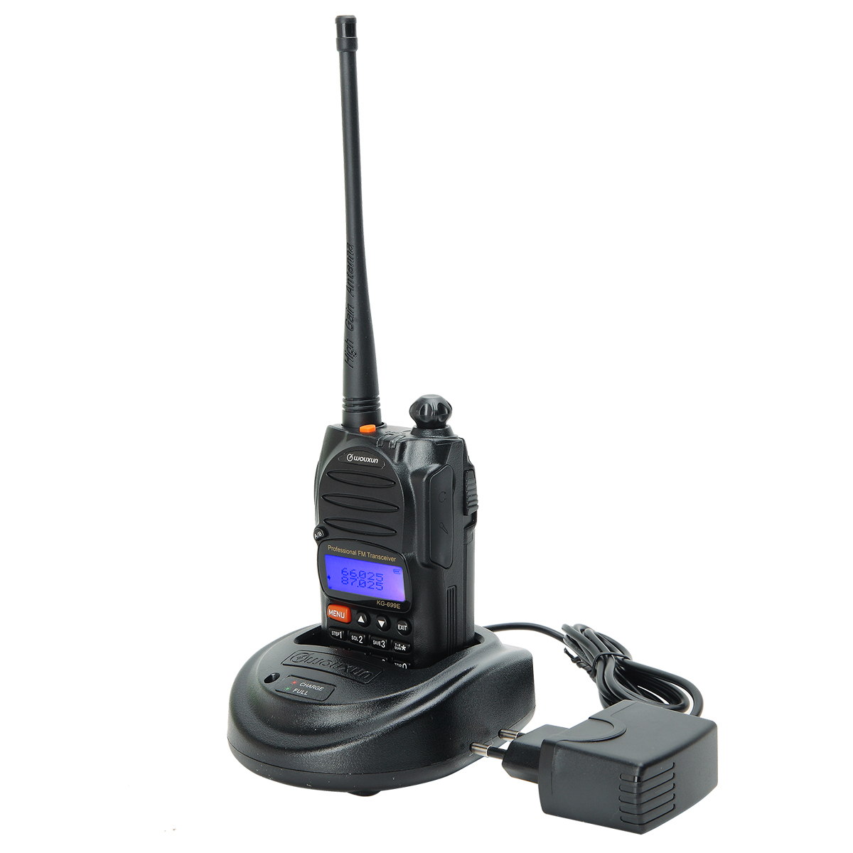 Wouxun KG-699E 66-88MHz DTMF 1750Hz CTCSS/DCS VOX SOS IP55 Waterproof Amateur Ham Handheld Transceiver Radio Walkie Talkie