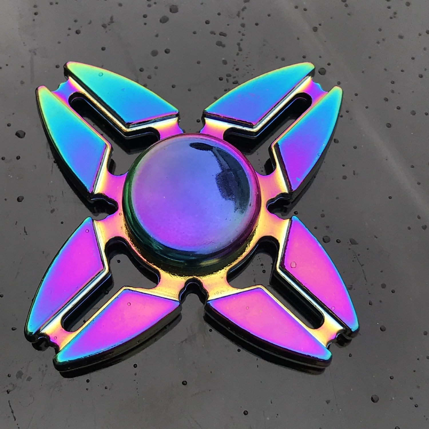 Fidget Spinner Office Anxiety Relief Stress Finger Spiner Gyro Flower Hand Spinner Metal Kinetic Toys For Children With Autism