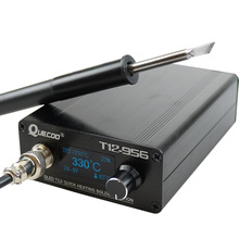 STC T12-956 Soldering Station Electronic Soldering iron OLED Digital station T12 solder iron tip with T12-P9 handle NO plug