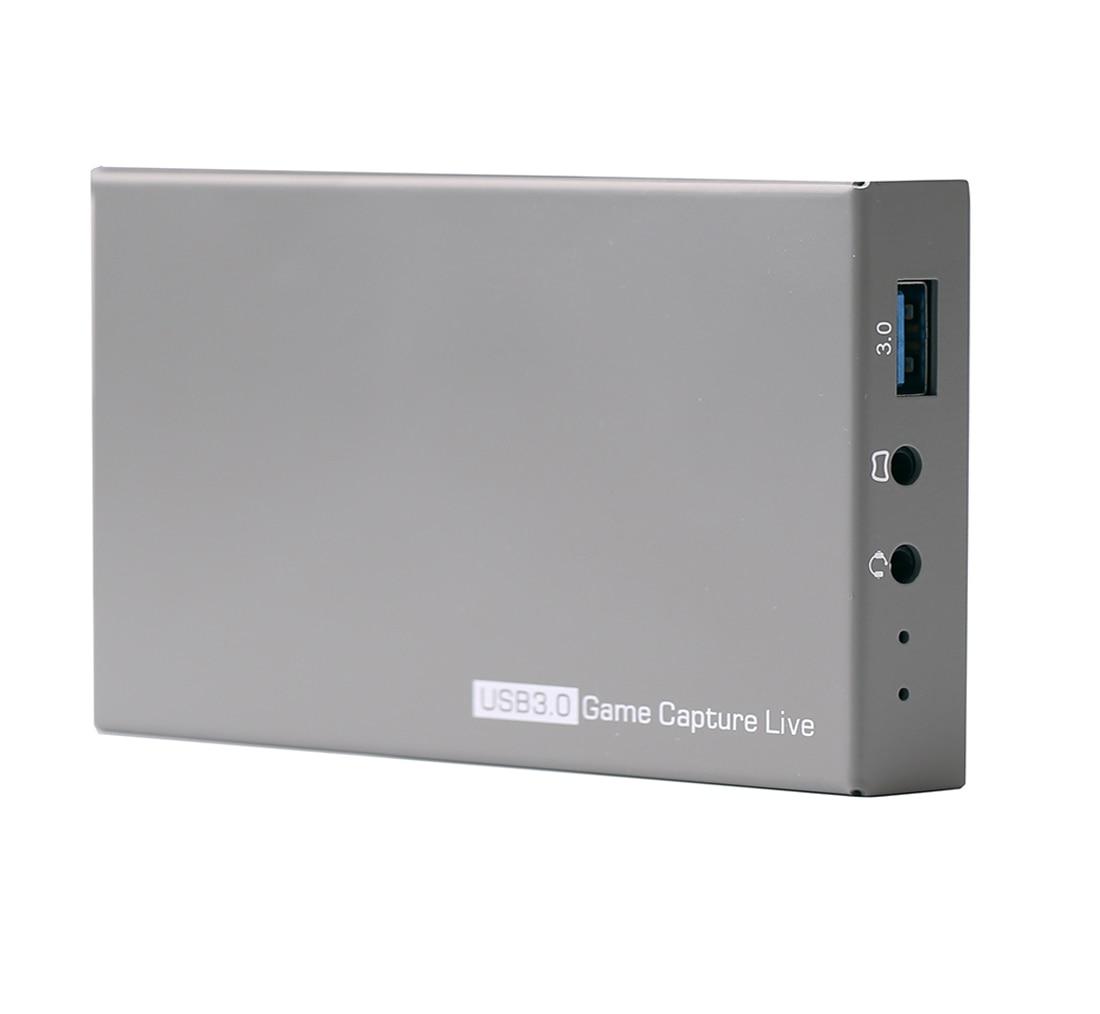 Karta przechwytująca gry Y & H 4K HDR HDMI2.0 USB3.0 nagrywanie wideo i przekaz na żywo 1080P 60fps z rozmową imprezową ezcap269 w Karty graficzne i telewizyjne od Komputer i biuro na