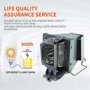 Image 2 - HAPPYBATE projecteur de remplacement de haute qualité lampe nue RLC 100 pour VIEWSONI C PJD7828HDL/PJD7831HDL/PJD7720HD/VS16230(RLC 100)
