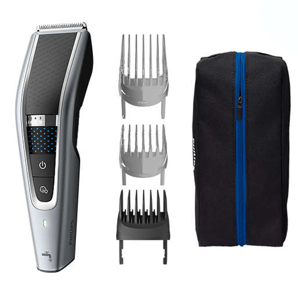 Philips Hairclipper Washable Hair Clipper HC5690/15 With Hair Bundle Diversion PRO Technology 27-speed Length Setting