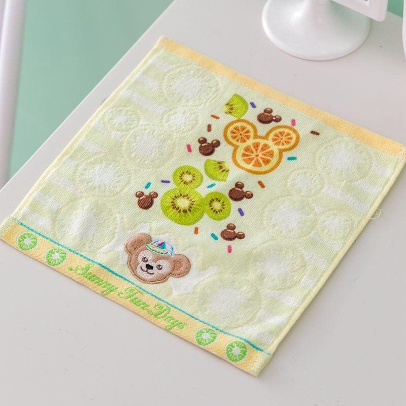 1Pc Baby Towel Cotton Material Children Towels Soft Cartoon Duffy Bear ShirlyMay Towel Baby Bath Towel Handkerchief