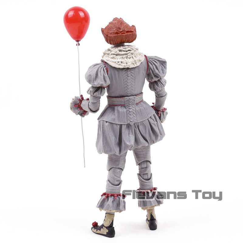 Neca stephen king's it 페니 와이즈 조커 어릿 광대 pvc 액션 피규어 장난감 선물