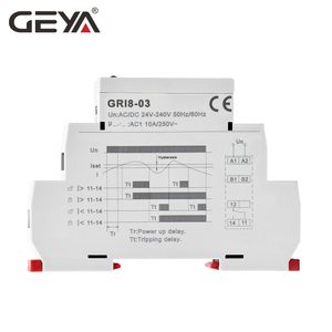 Image 4 - Free Shipping GEYA GRI8 03 Over Current or Under Current Adjustable Relay 0.05A 1A 2A 5A 8A 16A Current Relay