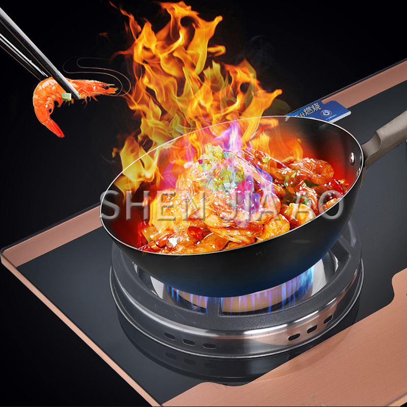 Super Sale F2eec Household Gas Stove Double Head Stove