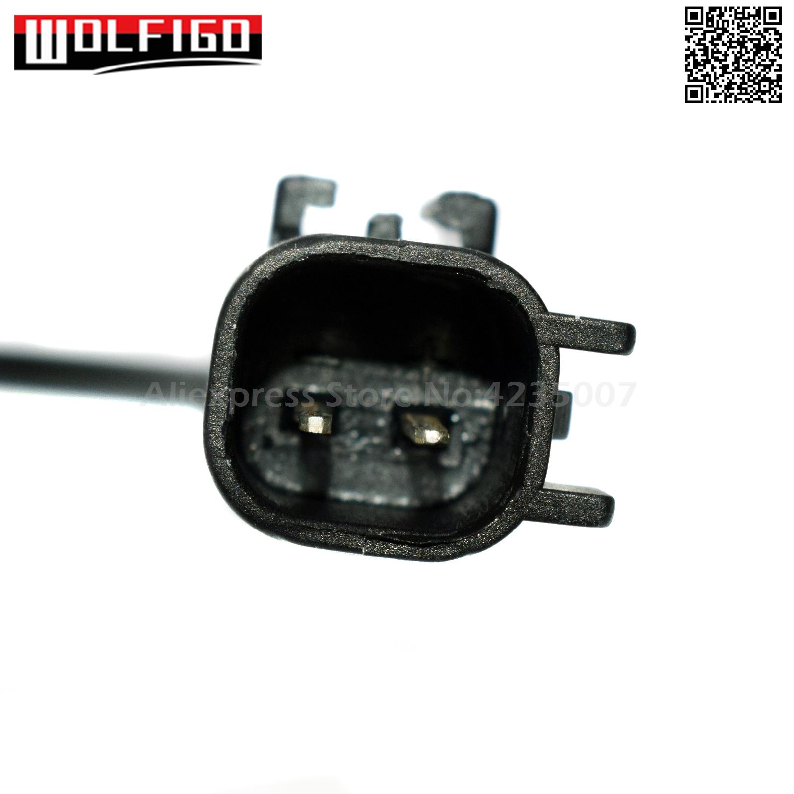 1 Kit 56028668AE Electrical Connector of ABS Wheel Speed Sensor Rear Left//Right Fits: DODGEDURANGO 2004-2006 DODGE RAM 2500 PICKUP 2010 RAM 1500 2011-2012 DODGERAM 1500 PICKUP 2007-2010