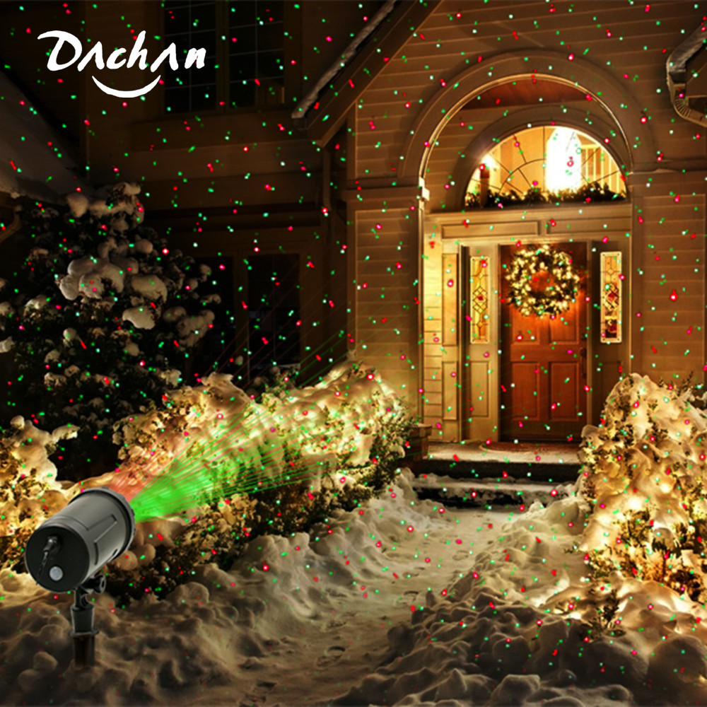 IP65 Wireless Control LED Christmas Laser Projector Snowflake Projector Outdoor Disco Garden Home Star Lights Holiday Decoration