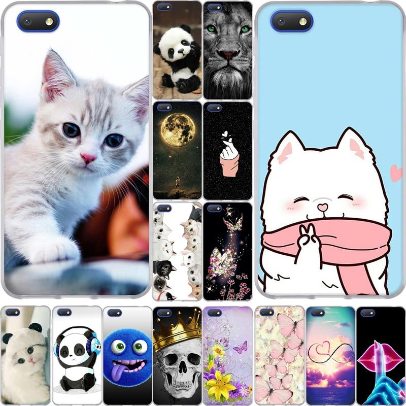 5.5 Inch For Alcatel 1V 2019 Case Silicone Luxury Soft TPU Cute Cartoon Cat Animal Phone Back Cover For Alcatel 1 V Funda Coque