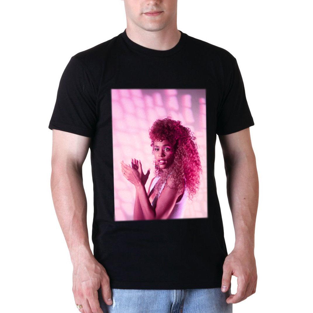 Whitney Houston T Shirt; WHITNEY HOUSTON TEE SHIRT