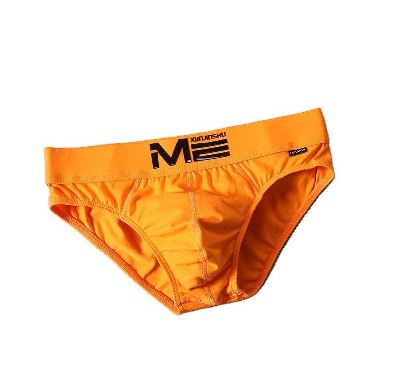 2021 брендовая Новая мода с низкой талией, сексуальные мужские трусы на бедрах, боксеры, мужское нижнее белье, одноцветные трусы, хлопок, спорт...