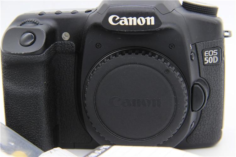 Cámara réflex digital Canon EOS 50D usada (solo cuerpo)