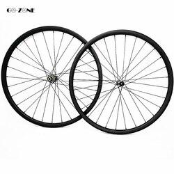 27.5er tarcza koła do roweru górskiego 30x30mm XC bezdętkowe 650B koło karbonowe novatec D411SB D412SB 100X15 142X12 mtb 27.5 koła