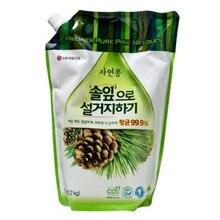 Жидкое средство для мытья посуды «Forest» LG Natural Pong, 1.2 л
