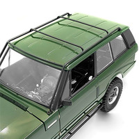 Roof Rack Steel Roll Cage Frame for 1/10 Range Rover RC Car Top Bracket Upgrade Parts Durable Metal
