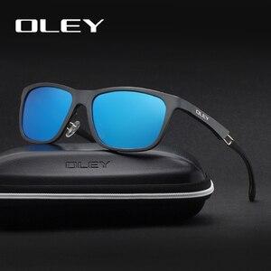 Image 4 - OLEY New Aluminum Magnesium Polarized Men Sunglasses Expandable hollow leg special anti slip design  Customizable logo Y7144