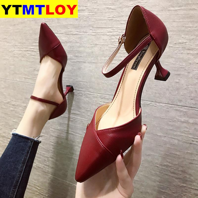 2020 New Pointed Toe <font><b>Fetish</b></font> Luxury Designer Woman <font><b>Extreme</b></font> Mules <font><b>High</b></font> <font><b>Heels</b></font> Women <font><b>Sexy</b></font> <font><b>Shoes</b></font> Ladies Pumps Wedding <font><b>Heels</b></font> Luxury image
