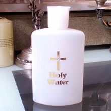 Один иностранный торговля, католический, христианский, портативный, бутылка для воды, этикет