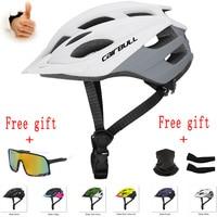 CAIRBULL DH MTB Ultraleicht Fahrrad Helm Rennrad Helm Männer Frauen Mountain Reiten Radfahren Integral geformten Helm Sonnenbrille
