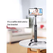 Telescopic portable with Bluetooth aluminum self-timer tripod is more robust for iPhone XS 7plus Redmi 5 Plus Mi 8 9 Huaw