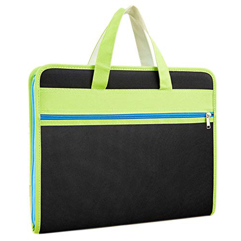 File Organizer A4 Letter Size, Expanding File Folder With Handle Portable And Waterproof, 13 Pockets Document Organizer For Offi