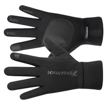 Touch-Screen Riding Cycling Non-Slip Safety Warm 1-Pair All-Finger Black Winter Waterproof