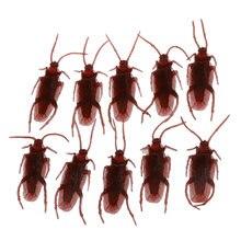 10 поддельных тараканов прикол сувенир жуков выглядят реальными