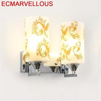 Mural Bathroom Loft Decor Lampara De Techo Colgante Moderna LED Applique Murale Luminaire Aplique Luz Pared Wandlamp Wall Lamp