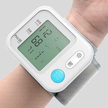 BOXYM-Monitor Digital de presión Arterial para muñeca, esfigmomanómetro automático para medir la presión Arterial