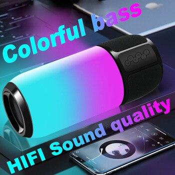 Portable Bluetooth speakers High Power Super bass HiFi stereo Subwoofer Music center caixa de som Wireless sound box column radi