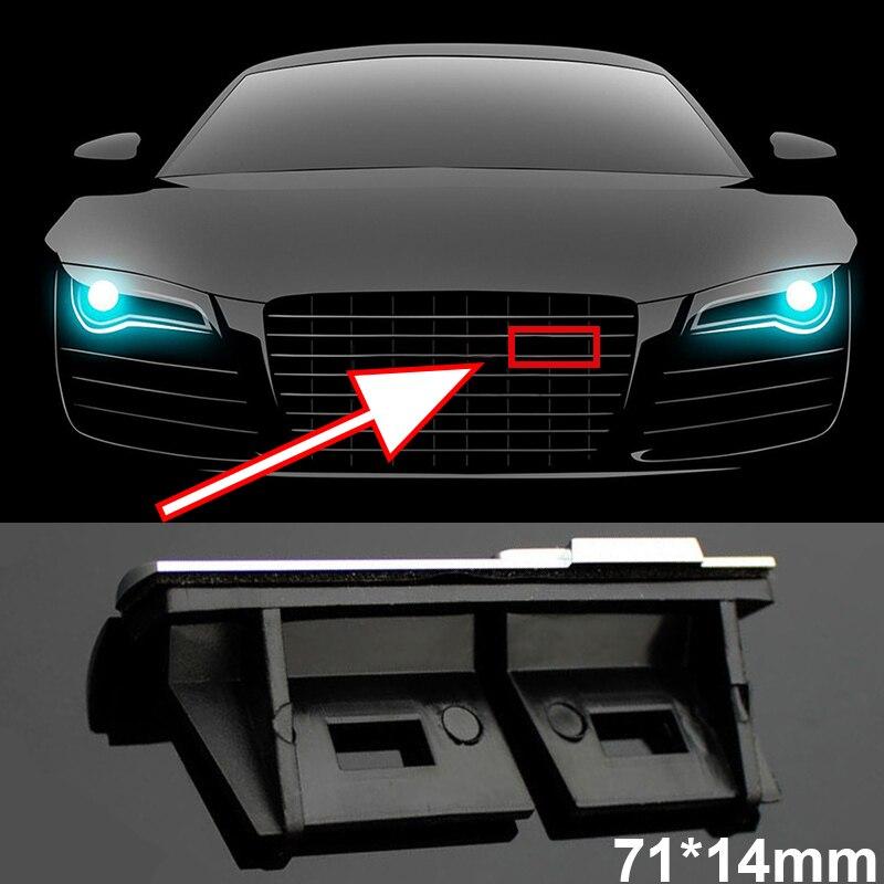 1 шт. автомобиль передняя решетка значок эмблема для решетки радиатора для Audi гибкие чехлы из термопластичного полиуретана (Sline A3 A4 A4L A6L TT Q3 Q5 ...