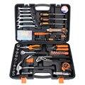 72 pçs conjunto de ferramentas manuais ferramentas de reparo do carro kit ferramenta caso soquete spark plug soquete liberação rápida catraca lidar com hts030