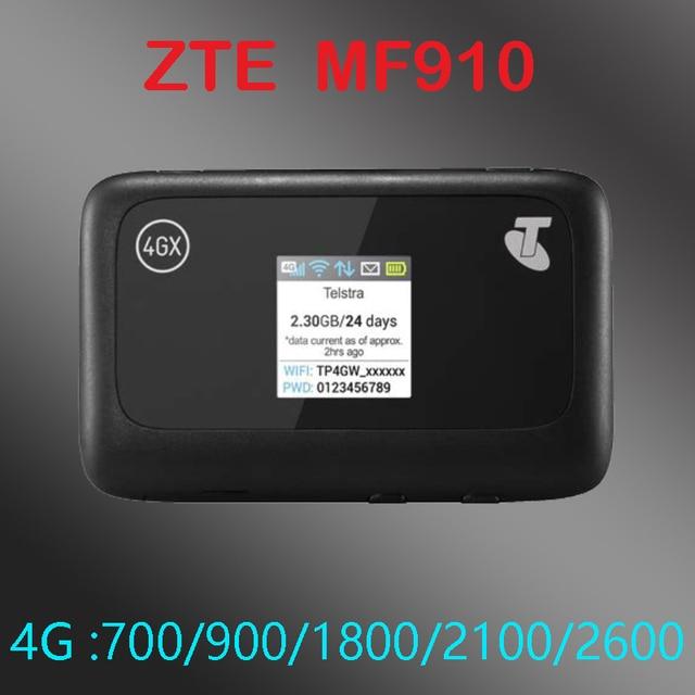 unlock ZTE MF910 LTE 4g mifi router band 28 700mhz 4g wifi dongle Mobile Hotspot pocket mifi mf910v modem router wifi 4g