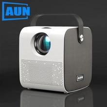 Aun mini projetor akey7 jovem | native1280 * 720p 3500 lumens alto-falante bluetooth de alta fidelidade led projeto para completo hd 1080p 3d beamer