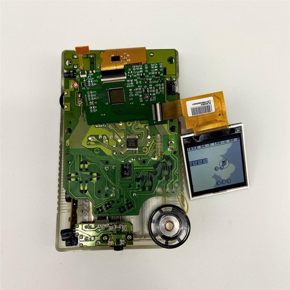 De alta luminosidad LCD kit de reequipamiento para Gameboy DMG GB pantalla LCD retroiluminada - 2