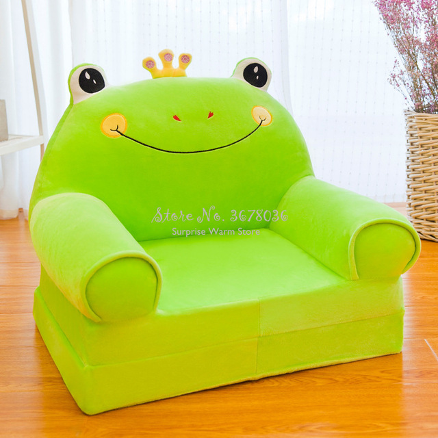 Cute Chair Fashion Children Sofa Folding Cartoon Stool for Children Kids Sofa Baby Stool Can Be Wash Washable Chair for Kids 1