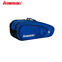 Kawasaki Badminton Bags Master Series 6 Pcs Backpack Outdoor Sport for Men and Women With Two Shoulders KBB 8658