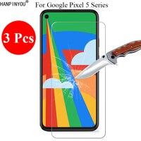 3 Teile/los Neue 9H 2,5 D Gehärtetem Glas Screen Protector Für Google Pixel 5 / 5A / Pixel5 XL schutz Film + Saubere Werkzeuge