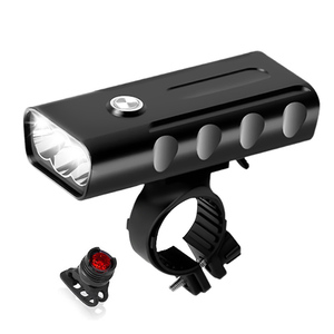 L2/T6 Bicycle Light USB Rechargeable 5200mAh Power Bank Bike Light Waterproof Cycling LED Headlamps Taillight Optional(China)