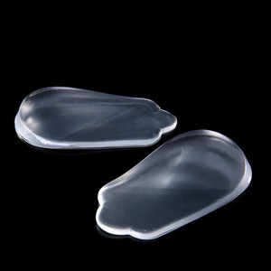 1 Pair Silicone Flatfoot Insole With Eight Toe Foot Orthotic Varus Correct Adhesive XO Type Legs Orthotic Heel Wedge Health Care