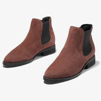 mens boots Italian stylish Flock men boots winter boots ankle boots premium suede leather male comfortable shoe