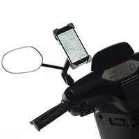Universal Scooter Phone Holder for Niu Electric Motorcycle Scooter Mobile Navigation Holder Stand for 3.5 5.5'' Smartphones